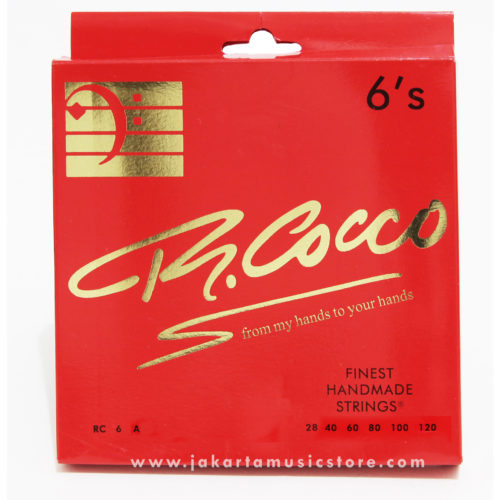 R Cocco 6's Stainless Steel  (28-120)