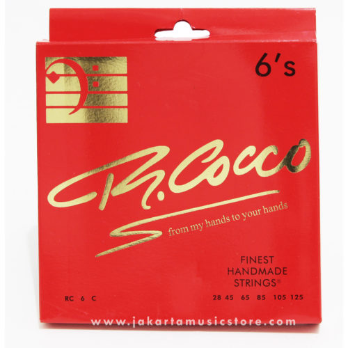 R Cocco 6's Stainless Steel (28-125)