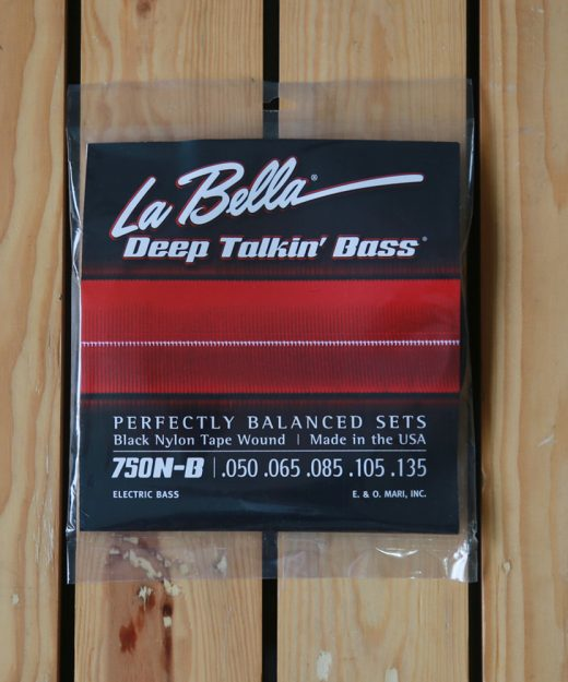 La Bella Black Nylon 50-135
