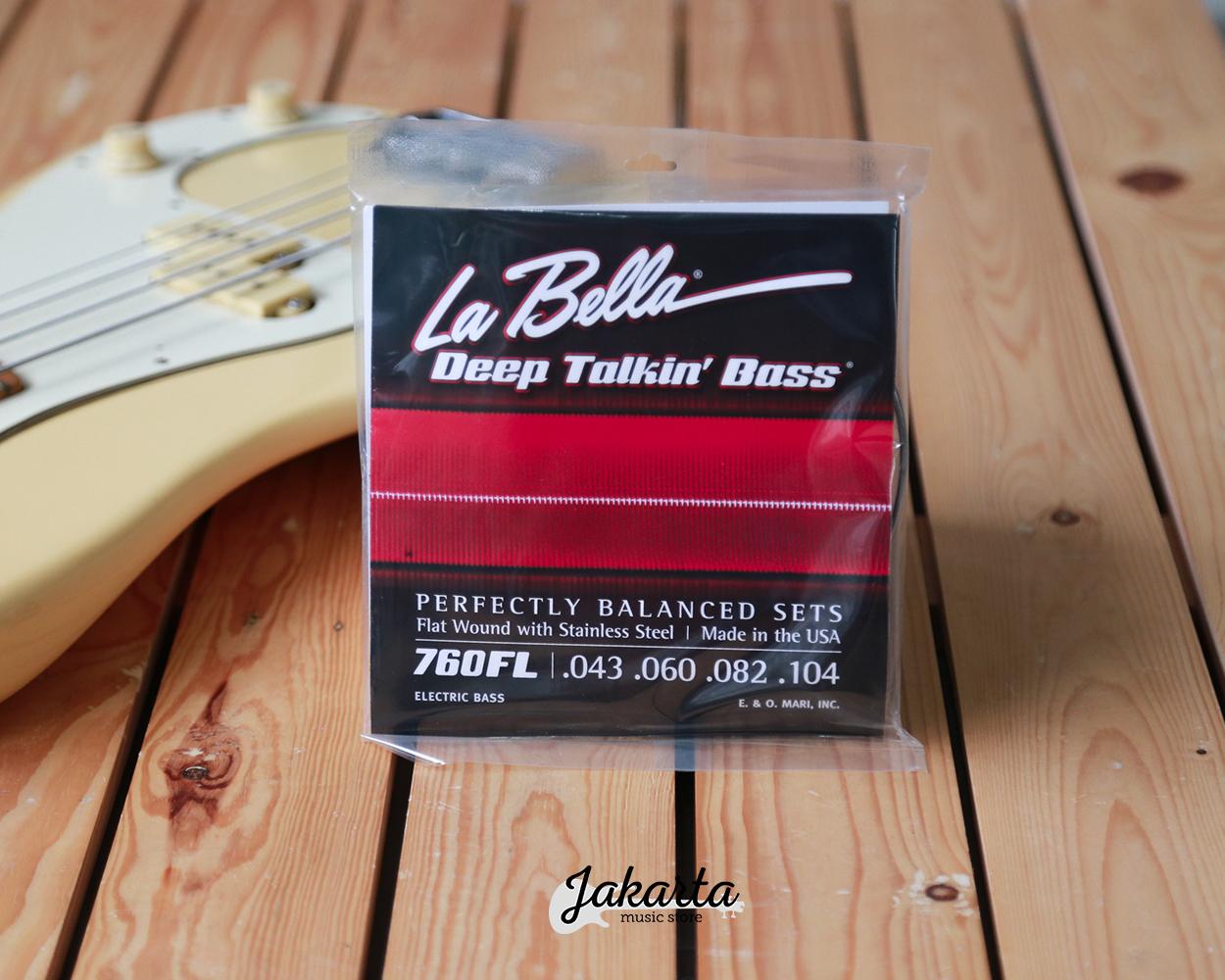 la bella 4 deep talkin 43 104 flat wound stainless steel bass strings jakarta music store. Black Bedroom Furniture Sets. Home Design Ideas